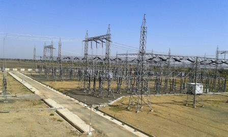 400 220 66kv Halvad Substation Gujarat India Mbh Power